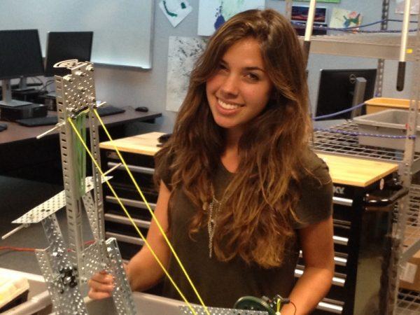 girl engineer student